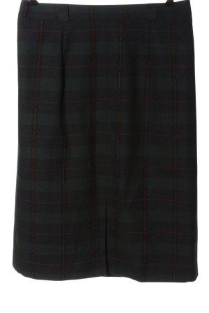 Jobis Wool Skirt check pattern casual look