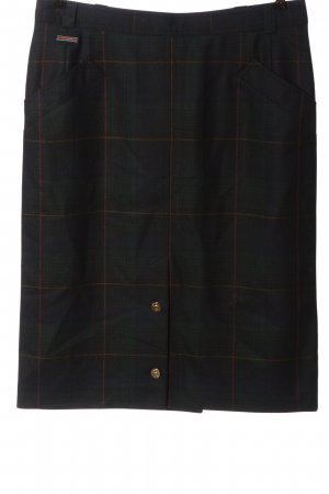 Jobis Wool Skirt check pattern business style