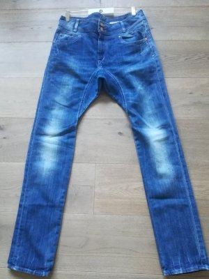 H&M Premium Pantalone alla cavallerizza blu