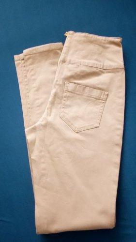 Pieces Pantalone alla cavallerizza multicolore Tessuto misto
