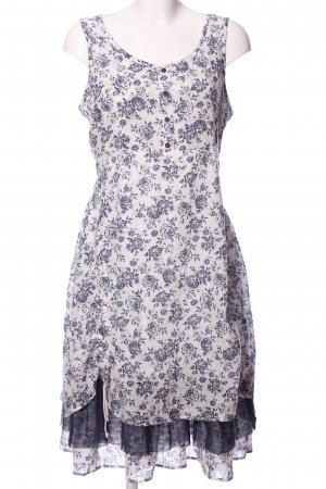 Joe Browns Vestido Hippie blanco-azul look casual