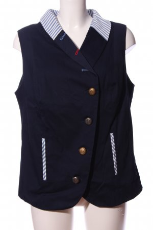 Joe Browns Long Knitted Vest blue casual look