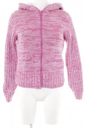 Joe Browns Wolljacke magenta-rosa meliert