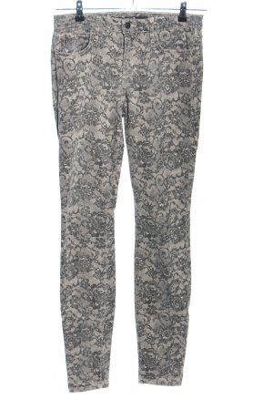 Joe's jeans Five-Pocket Trousers nude-light grey allover print casual look