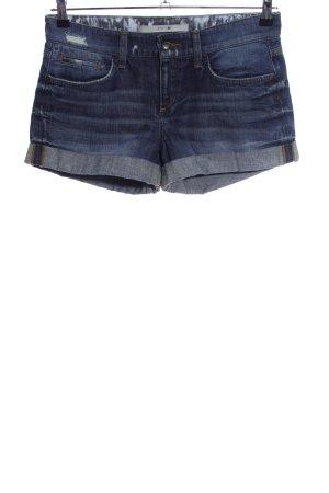Joe's jeans Hot Pants blau Casual-Look