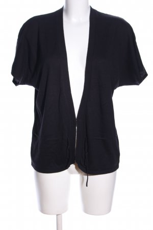 Joe Taft Cardigan schwarz meliert Casual-Look