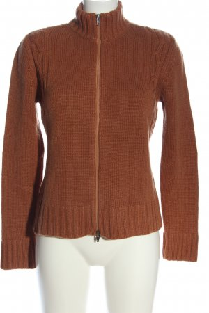 Joe Taft Strickpullover braun Casual-Look