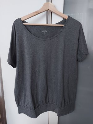 Crane Camisa deportiva gris-gris oscuro