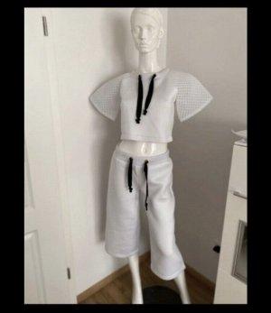 Hunkemöller Pantalone Capri bianco-bianco sporco