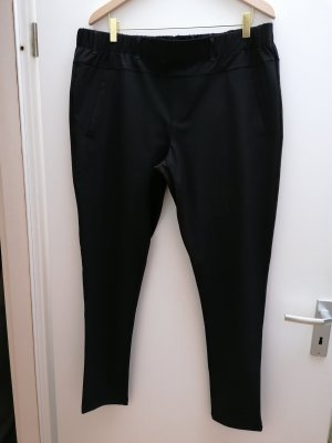 Cream Pantalon à pinces noir lycra
