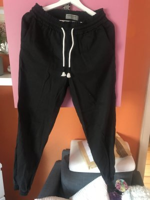 Clockhouse Baggy Pants black-white