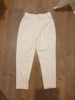 Mango Jersey Pants white