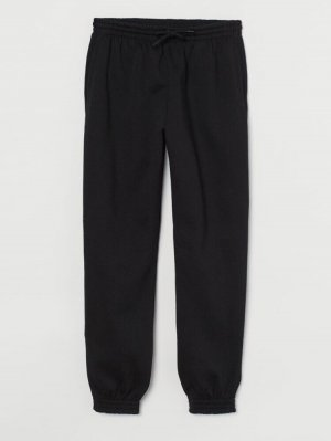 H&M Divided Jersey Pants black