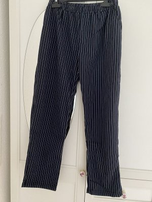 Tofisa Sweat Pants dark blue-white
