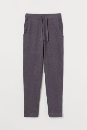 H&M Woolen Trousers grey lilac