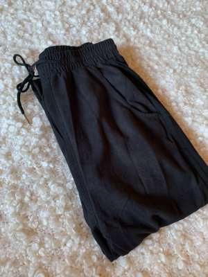 Sisters point Jersey Pants black-silver-colored
