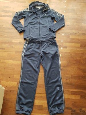 Adidas Pantalón de vestir gris