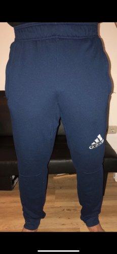 Adidas Pantalone da ginnastica blu scuro-blu