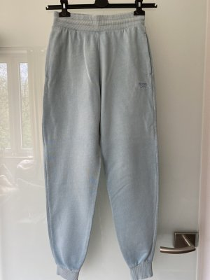 Reebok Pantalone fitness azzurro Cotone
