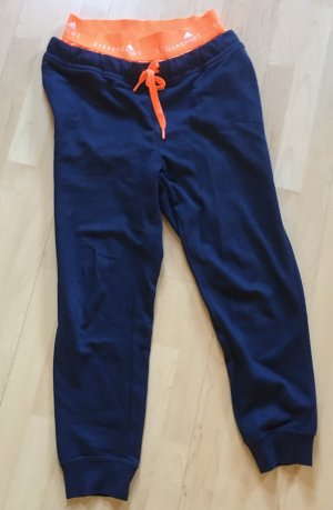 Adidas by Stella McCartney Sportbroek neonoranje-blauw