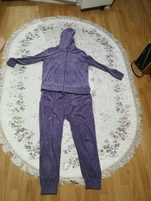 Chemise en jean violet