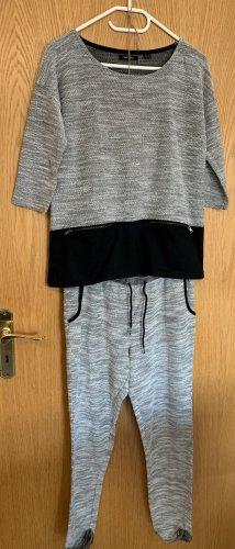 Esmara Leisure suit white-light grey