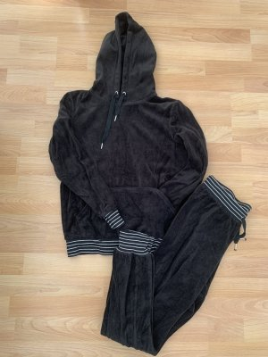Esmara Chándal negro-color plata