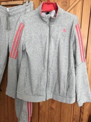 Adidas Originals Sweat Jacket light grey-pink