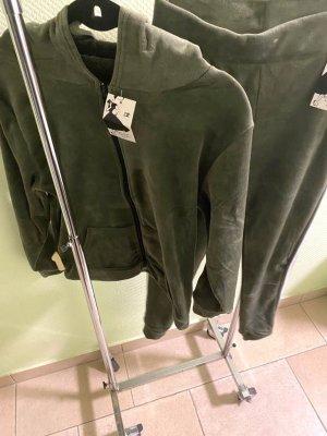 Pyjama zwart-khaki