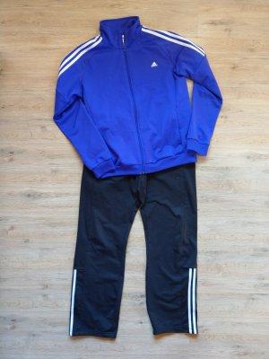 Adidas Completo sportivo nero-viola scuro