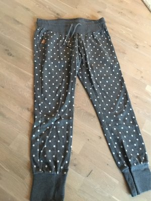 regwear Joggingbroek wit-grijs