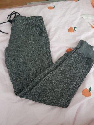 Bershka Pantalone fitness grigio-grigio scuro
