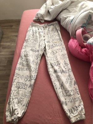 & DENIM Spodnie materiałowe różany