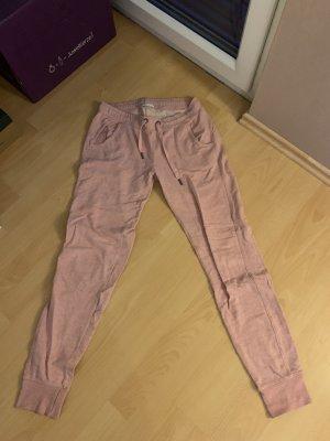 Amisu Joggingbroek roze Katoen
