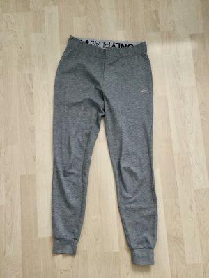 only play Pantalone fitness grigio chiaro-grigio
