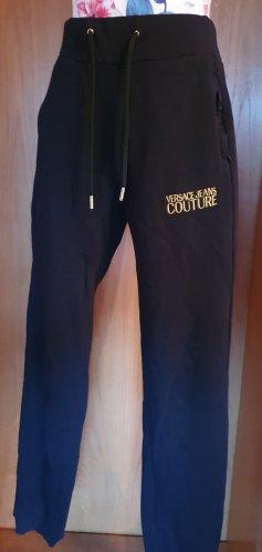Versace Joggingbroek zwart-goud