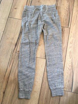 H&M L.O.G.G. Spodnie dresowe srebrny