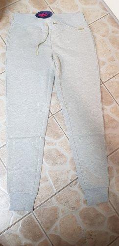 Buffalo Pantalon de jogging argenté-gris clair