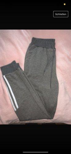 SheIn Spodnie z wysokim stanem szary