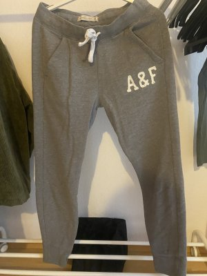 Abercrombie & Fitch Trackies grey-white