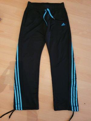 Adidas Trackies black-turquoise
