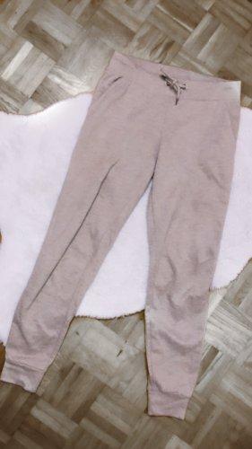 Jogginghose beige creme braun knit strick joggers