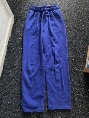 Bershka Sweat Pants blue