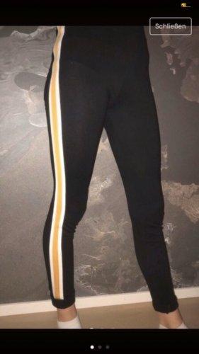 PrettyLittleThing Joggingbroek zwart-geel