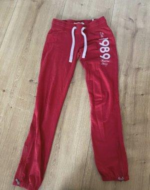 America Today Pantalon de sport rouge foncé