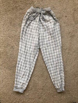 Pantalón deportivo blanco-gris claro