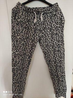 Zara Trafaluc Pantalón deportivo negro-gris claro