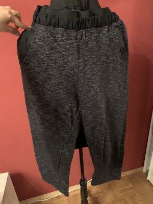 Sublevel Pantalon 7/8 gris foncé-noir