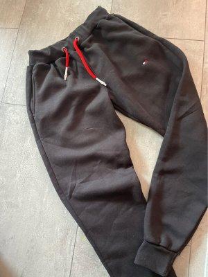 jogginghose gr M neu schwarz rot weiss