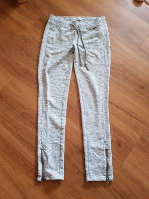 Hollister Spodnie dresowe jasnoszary-srebrny